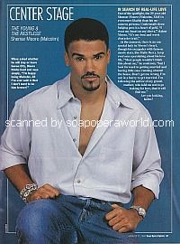 Center Stage with Shemar Moore of The Young and The Restless