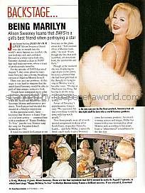 Being Marilyn with Alison Sweeney (Sami, DAYS)