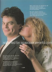 Wally Kurth and Judi Evans of Days Of Our Lives