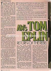 Page 1 of the Tom Eplin Interview