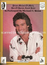 Michael Weiss (Dr. Mike Horton on Days Of Our Lives)