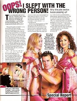 I Slept With The Wrong Person featuring Kassie Depaiva, Tuc Watkins and Robin Strasser of One Life To Live