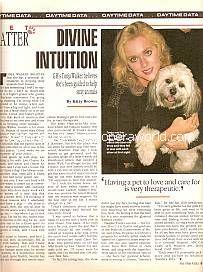 Pet Patter Interview with Tonja Walker (Olivia on General Hospital)
