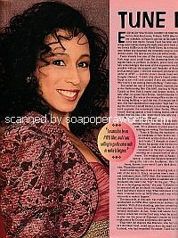 Interview with Tamara Tunie of ATWT - Soap Opera Weekly 1995