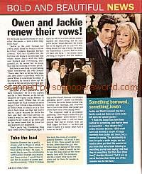 B&B News featuring Brandon Beemer & Lesley-Anne Down (Owen and Jackie on The Bold & The Beautiful)