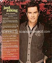 Just Asking with Rick Hearst (Whip on The Bold & The Beautiful)