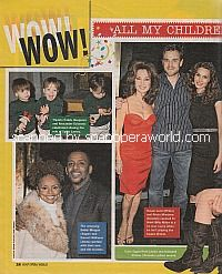Wow featuring Billy Miller and Susan Lucci