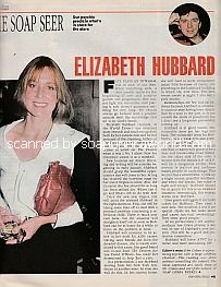 The Soap Seer featuring Elizabeth Hubbard of As The World Turns