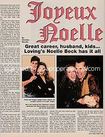 Interview with Noelle Beck (Trisha on the ABC soap opera, Loving)