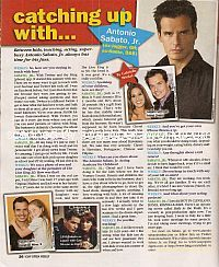 Interview with Antonio Sabato Jr. (ex-Jagger on General Hospital)