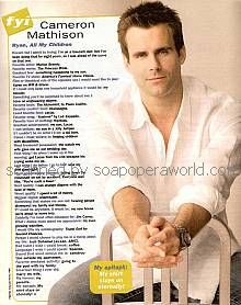 Cameron Mathison (Ryan, AMC)