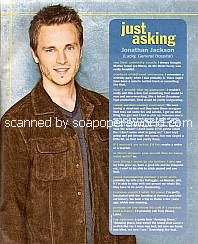 Just Asking with Jonathan Jackson (Lucky Spencer on General Hospital)
