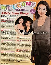 Welcome Back with Eden Riegel of All My Children