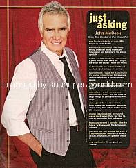 Just Asking with John McCook (Eric on The Bold & The Beautiful)