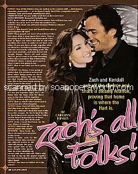 AMC Cover Story with Alicia Minshew and Thorsten Kaye