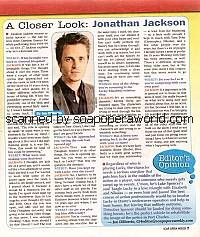 A Closer Look with Jonathan Jackson (Lucky, GH)
