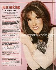 Just Asking with Kate Linder (Esther, Y&R)