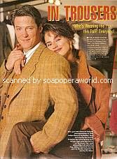 Fall Clothing Pictorial with Matthew Ashford & Crystal Chappell (Jack & Carly, DAYS)