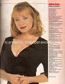 Andrea Evans (Rebecca on Passions)