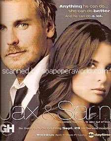 Ingo Rademacher & Kelly Monaco (Jax & Sam, GH)
