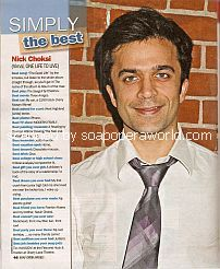 Simply The Best with Nick Choksi (Vimal on One Life To Live)