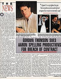 Former Dynasty Star Gordon Thomson Sues For Breach Of Contract