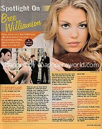 Spotlight on Bree Williamson of One Life To Live