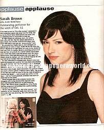 Sarah Brown (Julia, ATWT)