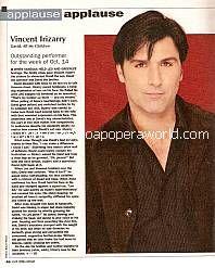 Vincent Irizarry (David, AMC)