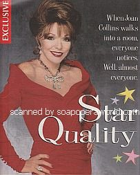 Interview with Joan Collins (Alexandra on Guiding Light)