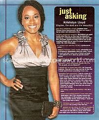 Just Asking with Kristolyn Lloyd (Dayzee on The Bold and The Beautiful)