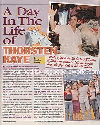 A Day In The Life of Thorsten Kaye (Zach on All My Children)