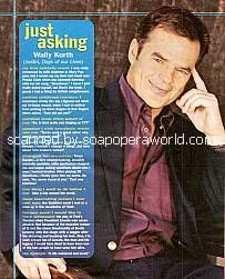 Just Asking with Wally Kurth (Justin on Days Of Our Lives)