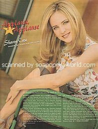 Applause, Applause for Sharon Case of The Young and The Restless