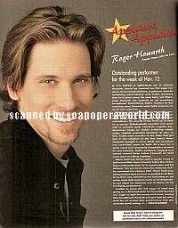 Roger Howarth (Todd Manning, OLTL)