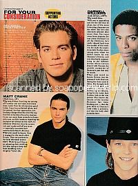 Supporting Actor Emmy Hopefuls featuring Michael Weatherly and Jonathan Jackson