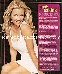 Just Asking with Katherine Kelly Lang (Brooke on The Bold and The Beautiful)