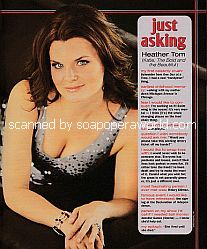 Just Asking with Heather Tom (Katie on The Bold and The Beautiful)