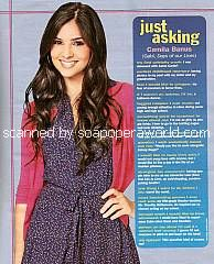 Just Asking with Camila Banus (Gabi on Days Of Our Lives)