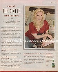 A Taste of Home with Liza Huber (Gwen on Passions)