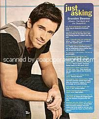 Just Asking with Brandon Beemer (Owen on The Bold and The Beautiful)