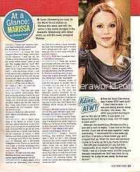 At A Glance with Sarah Glendening (Marissa on All My Children)