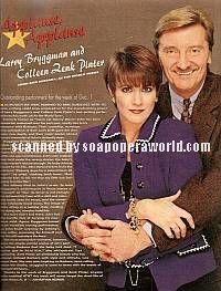 Colleen Zenk Pinter & Larry Bryggman (Barbara & John, ATWT)
