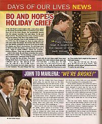 Storyline Articles for Days Of Our Lives
