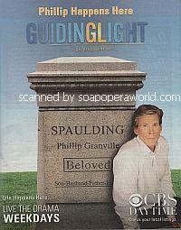 Philip Happens Here.  The Return of Grant Aleksander to Guiding Light