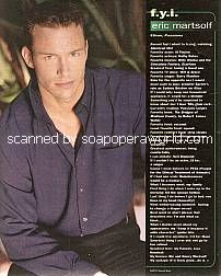 Eric Martsolf (Ethan on Passions)