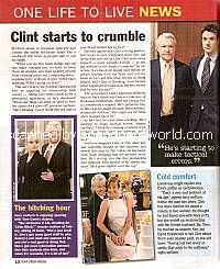 Clint Starts To Crumble