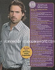 FYI with Joshua Morrow (Nick on The Young and The Restless)