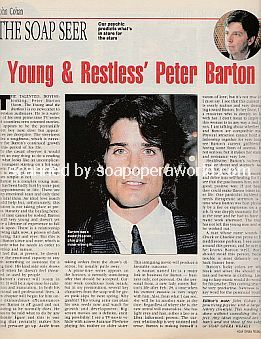 The Soap Seer featuring Peter Barton of The Young and The Restless