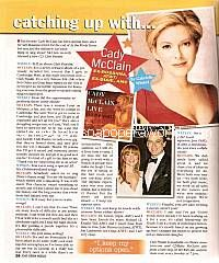 Catching Up with Cady McClain (ex-Rosanna, ATWT)
